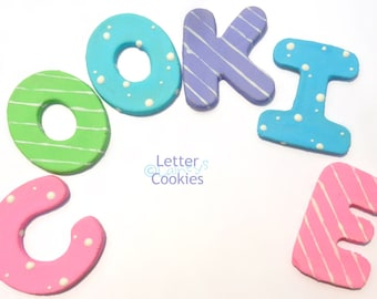 Laineys Letter Cookies