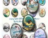 30mm x 40mm,  MERMAIDS I ADORE,  INSTANT Digital Download at Checkout,mermaid, mermaid pendants, mermaid jewelry, beach jewelry, mermaids