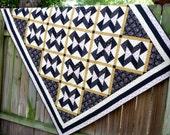American Gothic Civil War Quilt Blanket