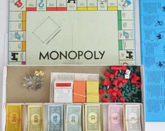 Get out of jail free, 1961 Monopoly game