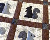 Squirrel quilt