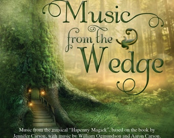 Music From the Wedge, Music download card and book package