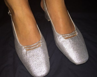 Vintage Dolce by Pierre Silver Shoes