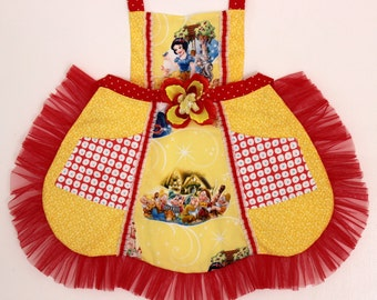 Snow White and the Seven Dwarfs Apron