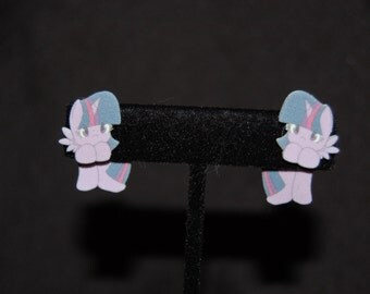 My Little Pony Twilight Sparkle Hanging Earrings