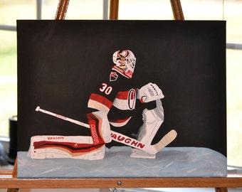 Andrew Hammond Hamburglar Ottawa Senators Painting