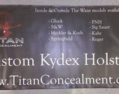 Indoor Outdoor Vinyl Banner Custom Sizes by 2 Feet Includes Design & Grommet Holes