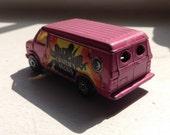 Charlie's Angels Pink Van!
