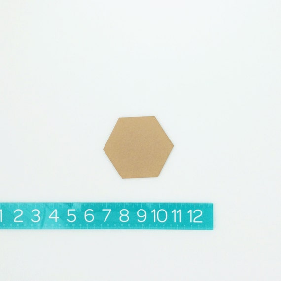 "hexagons PAIR (2"")"