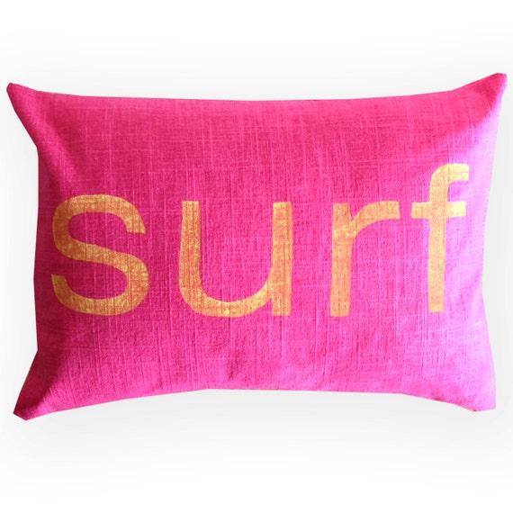 Beach Home Decor Pillows: Beach House Pillow / Surf Decor / Surf Pillow / By NestaHome