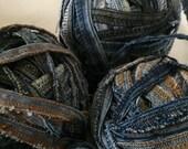 Blue Jean Yarn Recycled Seams