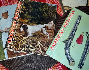 Vintage  Magazines American Rifleman 1966 3 for 1