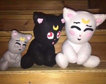 Sailor Moon Plush Cats