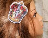 Harry Potter Gryffindor House Crest Hair Clip MTCoffinz