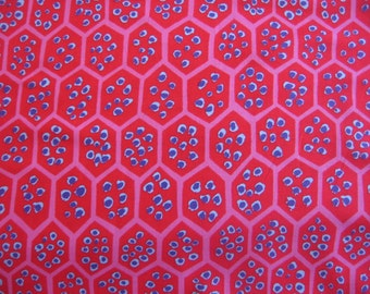 SALE - 1 yd. Kaffe Fassett collection, Pomegranate in red