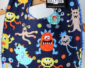 Baby Bib...silly monsters