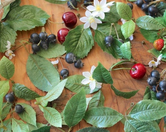 From the Orchard : Cherries Strawberries Blueberries for decorating packages and gift baskets