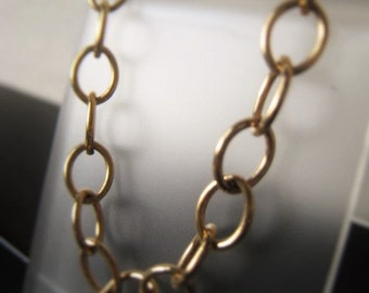Gold Chain Necklace 14K Gold Filled Link Chain Necklace Item No. 6844