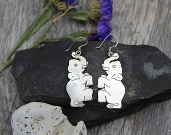 Super Happy Elephant Earrings