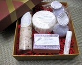 Soap Gift set - Handmade Luxury Soap Gift Set (Lavender and Buttermilk, Vanilla) Aroma therapy, moisturizing, Stardust soaps