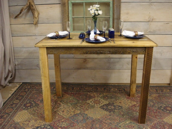 Counter Height Farm Table : Farmhouse Counter Height Table (50