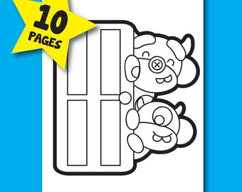 Monkeys, Inc. Coloring Pages