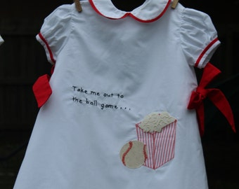 Take Me Out To the Ball Game Dress