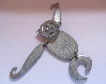 Vintage Metal Monkey Pendants Charms