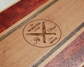 Wooden Wedding Cutting Board - Custom, Personalized, Anniversary, Housewarming - Monogrammed - FREE ENGRAVING