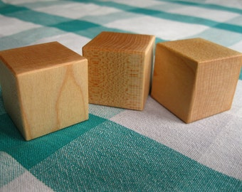 Set of 3 Maple Blocks