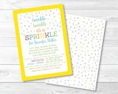 Cute Baby Sprinkle Invita...