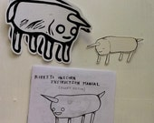 Burrito Unicorn Instruction Manual (pocket version) and stickers