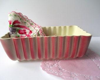 Vintage Royal Windsor Rosy Pink Ceramic Planter