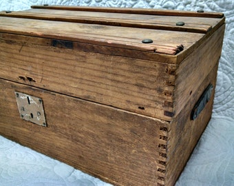 Old Doll Chest