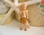Doll Antique German Tiny Compo Miniature Boy
