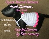 Immediate Download - PDF Crochet Pattern for Rosa's Sundress