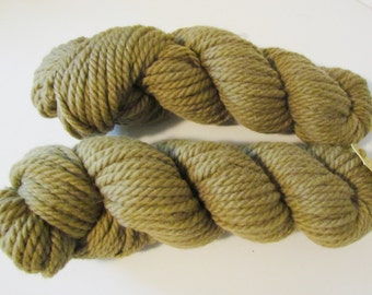 Olive Green Brownish Knitting Crochet  Yarn Paterna Chunky Worsted Crewel Needlepoint Rug Yarn Color 462