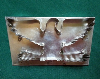 American Eagle Cookie Cutter With Back By West Tinworks
