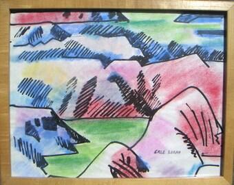Erle Loran  Painted Desert