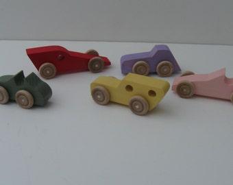 Pocket Cars - 5 various colors