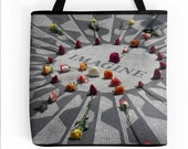 Imagine Tote Bag New York City Fine Art