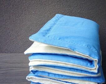Organic flannelbaby change pad, waterproof organic cotton satin  travel baby pad, baby care gift, baby shower gift