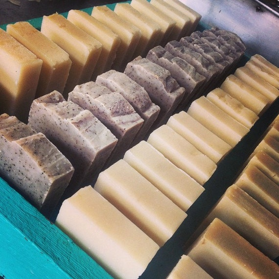Six Soap Variety Pack by RoseCitySoap on Etsy