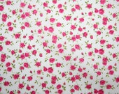 "Special offer! Liberty Tana Lawn ""NINA"" colour M watermelon red fat quarter"