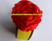 Enchanted Red Rose - Band Accessory