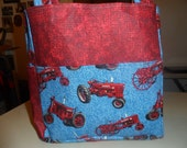 farmall tractor red bag/purse/ diaper bag