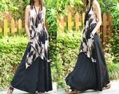 Idea2lifestyle - air plant - scarf vest maxi dress maxi skirt (Q1518)