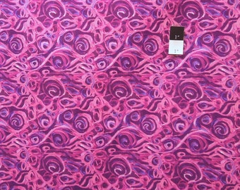 George Mendoza PWGM015 Inspiration Impulse Magenta Cotton Fabric 1 Yd