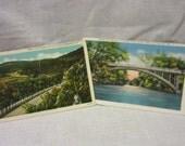 Vintage Pair of Fayetteville Arkansas Postcards