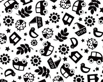 Black/White pattern card - Eco friendly